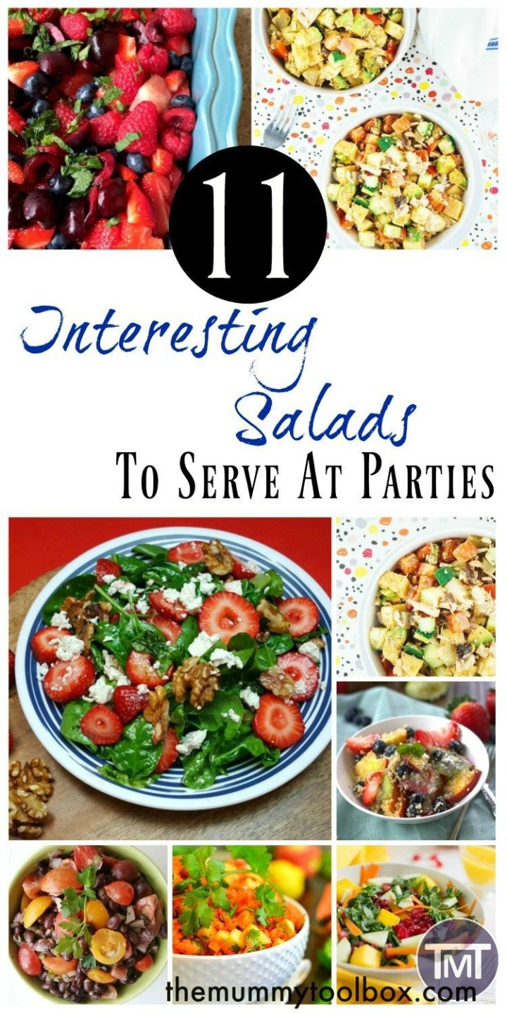 Interesting salads are hard to come by, particularly in BBQ season so here are some recipes to spruce up your salad bar and keep guests happy.