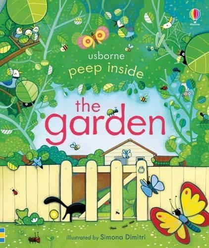 Usborne Peep inside the garden book