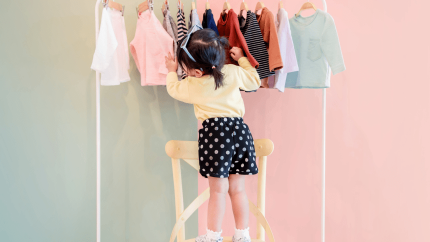 How to spend less on kids clothes