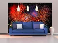 Fireworks Wall Mural DM131 |Full Size Large Wall Murals ...