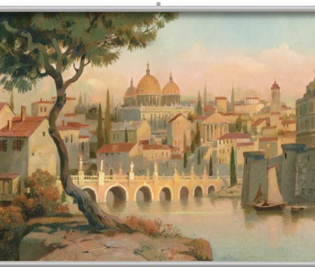 Tuscan Scenic  Minute Mural