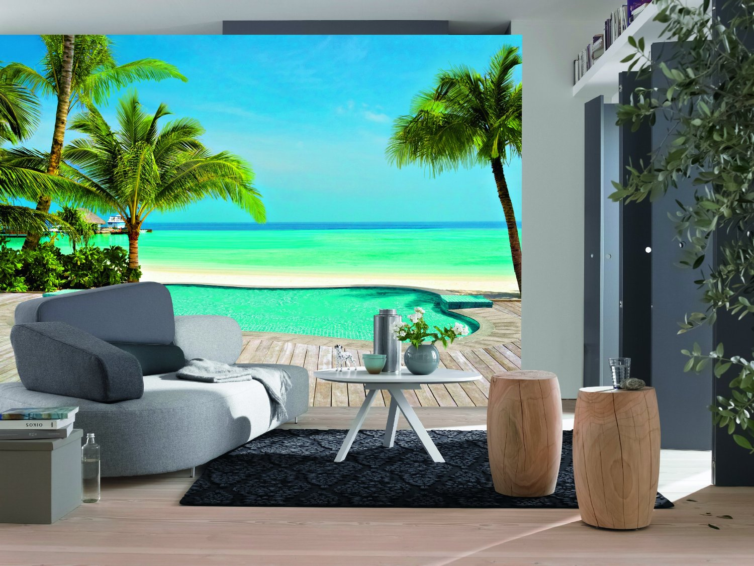 Pool Wall Mural DM127 Full Size Large Wall Murals The