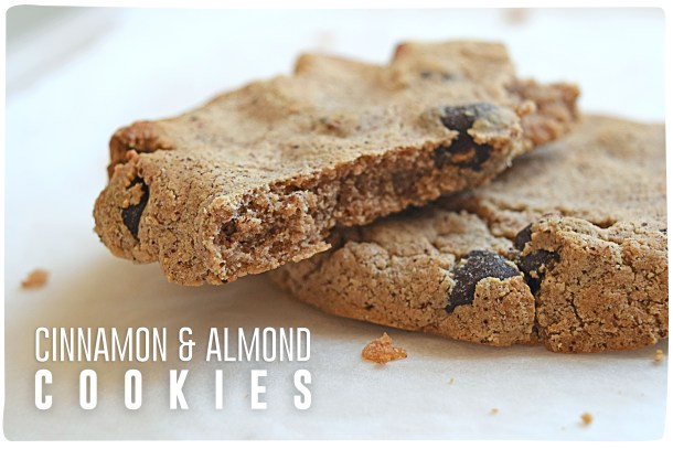 Cinnamon Almond Cookies