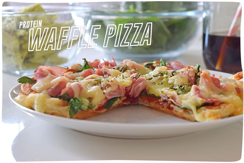 Waffle Protein Pizza_main