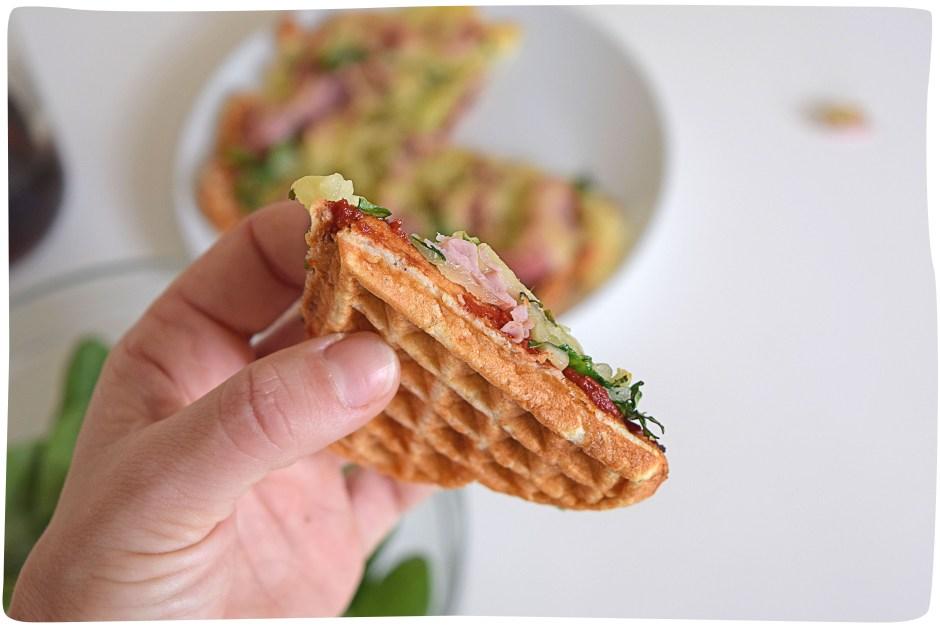 Waffle Protein Pizza_main2