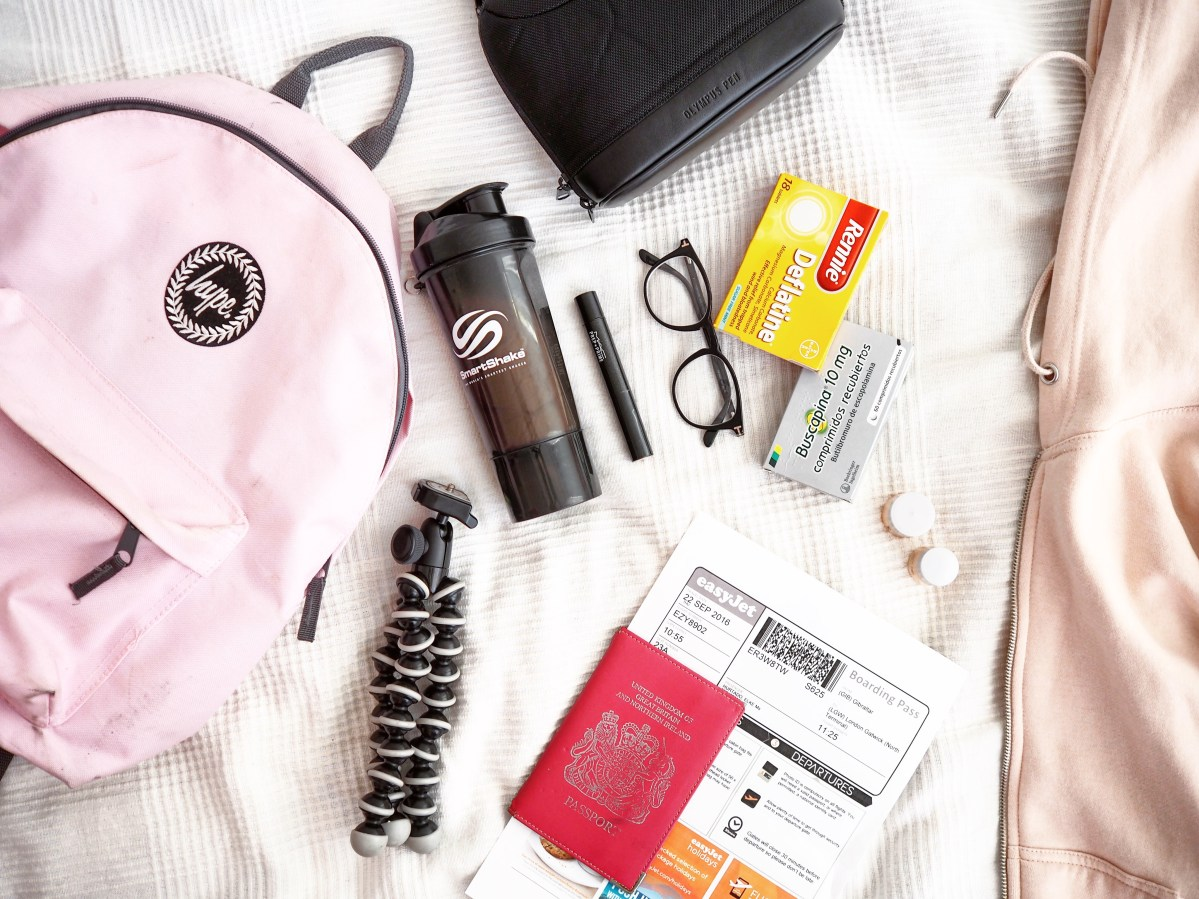 Some tips on travelling fit!