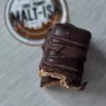 Choc Peanut Malt-ish Bar (Vegan)