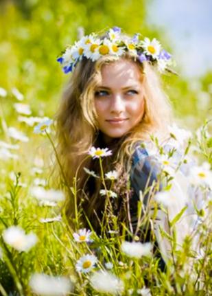Daisy crown ©traumhochzeit.com