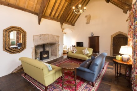 The Tudor Room is now your stunning living room