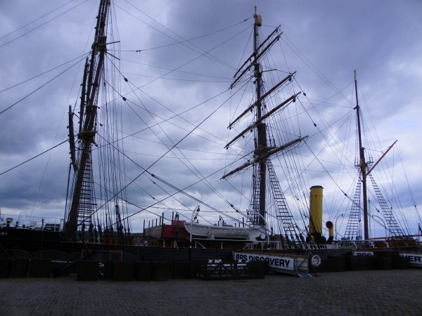 The RRS Discovery in Dundee, Scotland