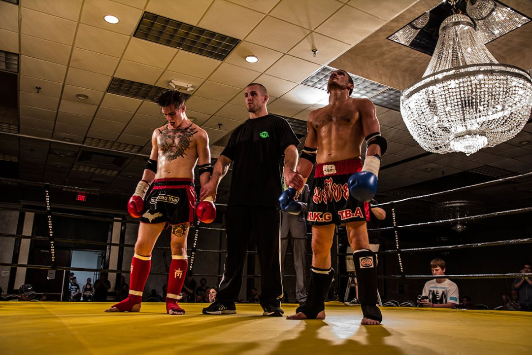 Farang Fight League VIII – Full Rules Muay Thai Chavezz Russell vs Dylan Haines
