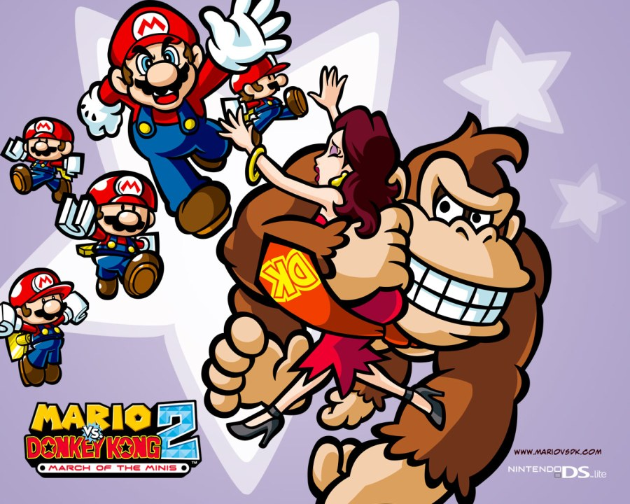 Image result for Mario, Donkey Kong and Pauline