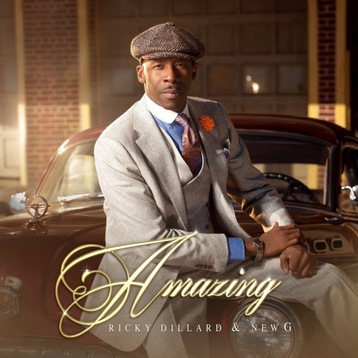 Ricky Dillard, Amazing © Entertainment One