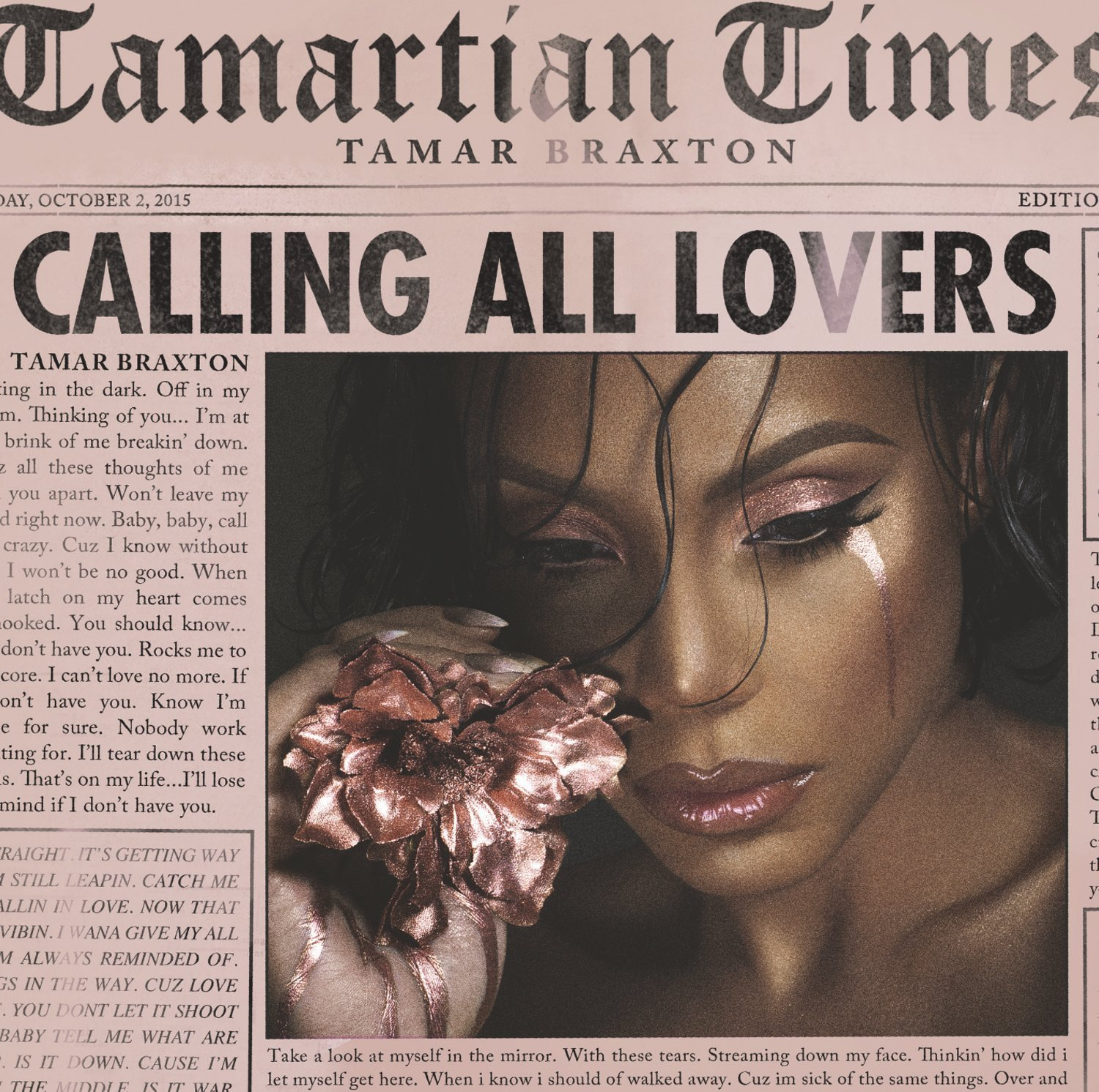 Tamar Braxton, 'Calling All Lovers' (Short Take Review)