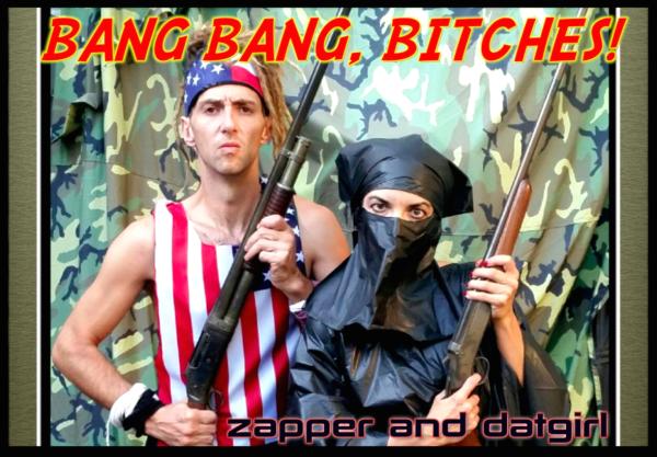DATGIRL & ZAPPER, Bang Bang, Bitches!