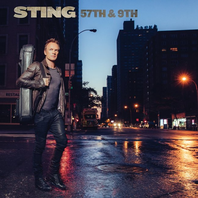 Sting, 57th & 9th © A&M