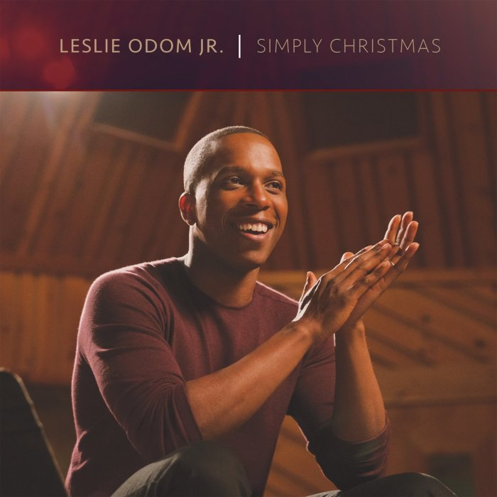 Leslie Odom, Jr., Simply Christmas © S-Curve