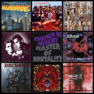 Gacy playlist albums © Asthmatic Kitty, Nuclear Blast, Partisan, Curb, Roadrunner, Blacks Mark, Metal Blade, Alternative Tentacles
