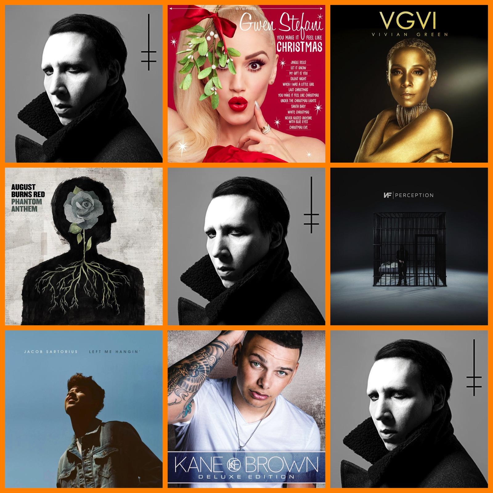 Music Shopping List   Marilyn Manson Turns 'Heaven Upside Down'