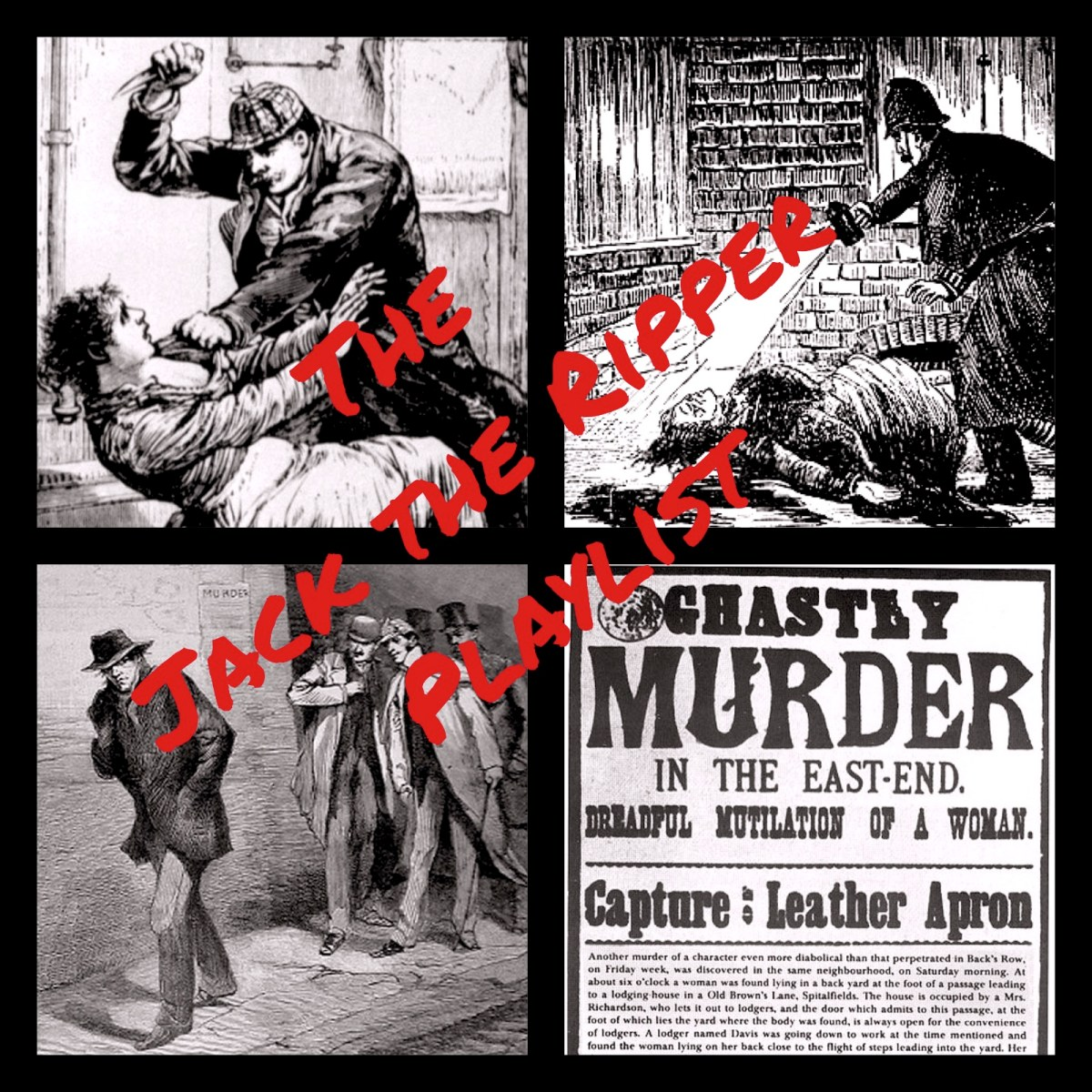 12 Songs About Jack the Ripper | Playlist