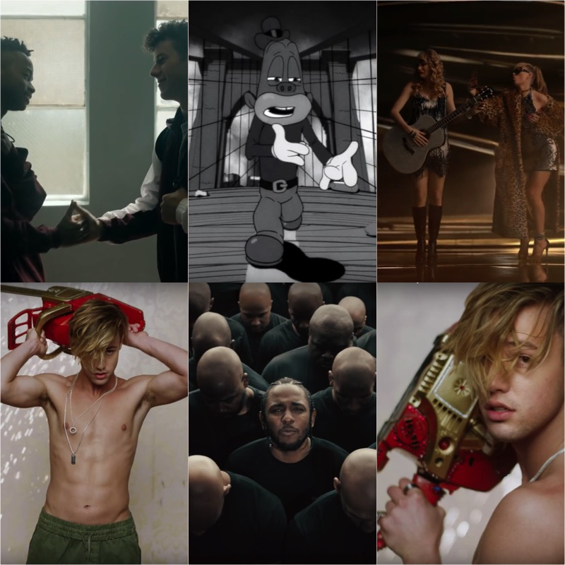 10 Best Music Videos of 2017 | Year in Review