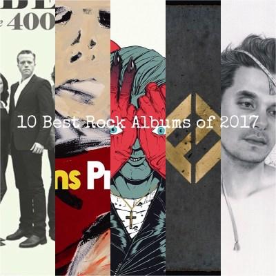 10 Best Rock Albums of 2017