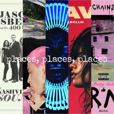 Places Playlist © Southeastern, Interscope, Glassnote, Epic, Def Jam