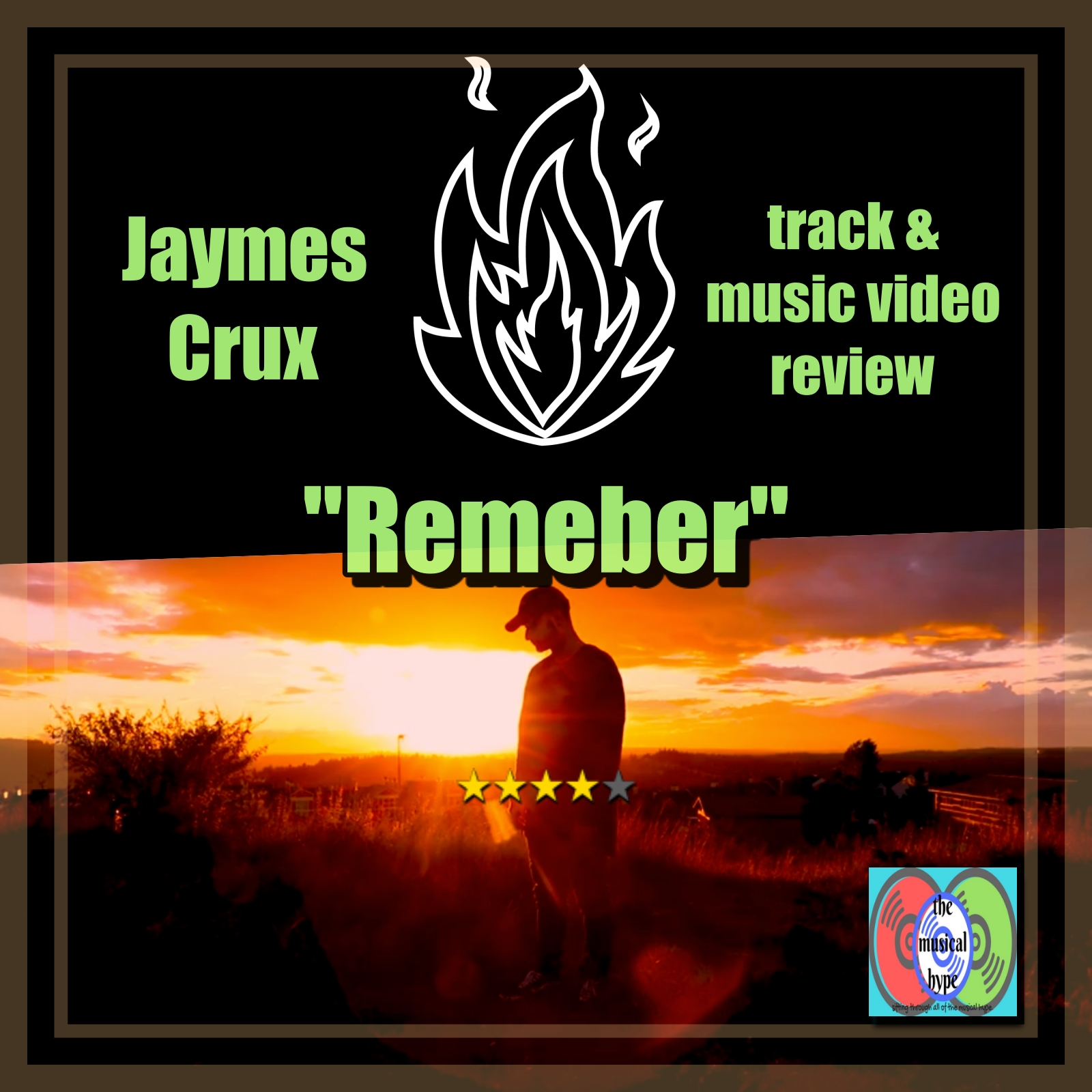 Jaymes Crux, Remember | Track & Music Video Review