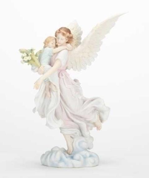 Seraphim Angel with Child figurie