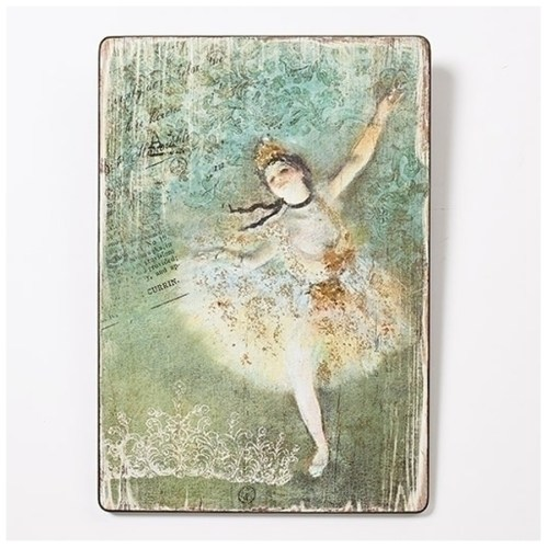 "Degas Ballerina wall plaque ""The Star"""