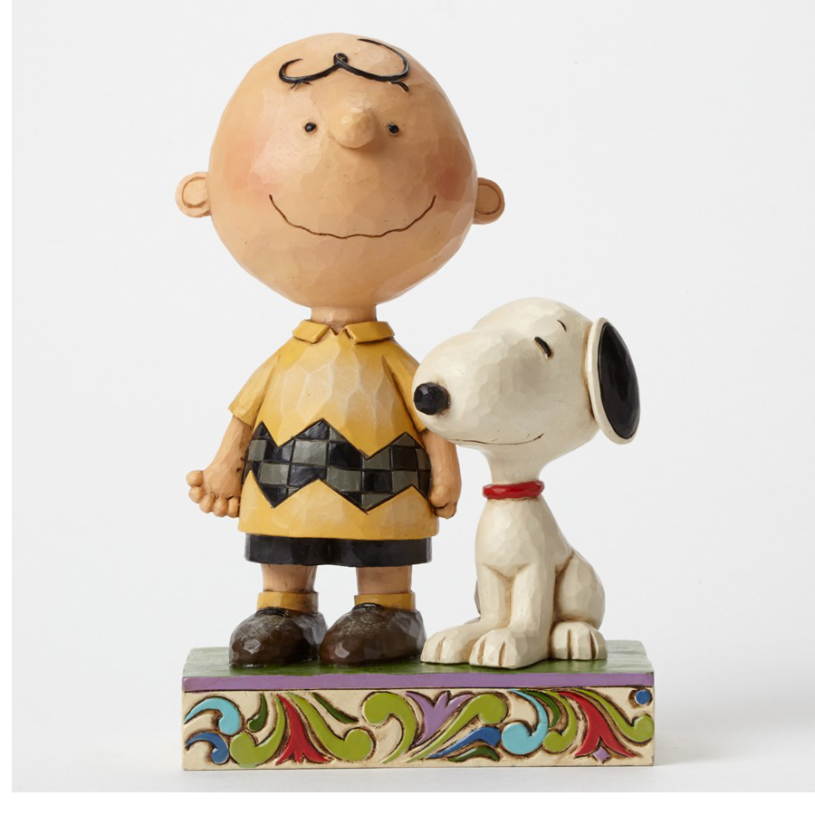 Charlie Brown and Snoopy Friendship figurine by Jim Shore