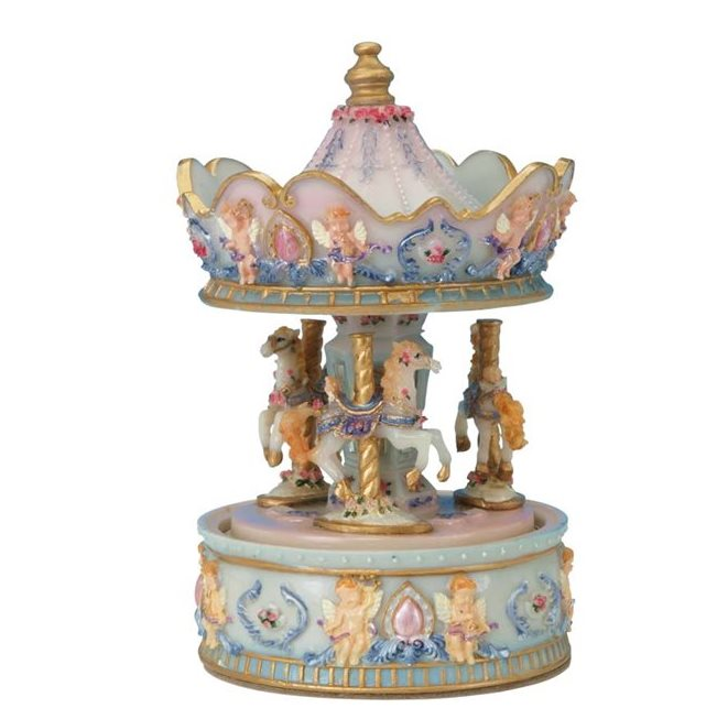 Small Angel Carousel 14042
