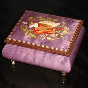 Italian Jewelry Box Plum 17CVM