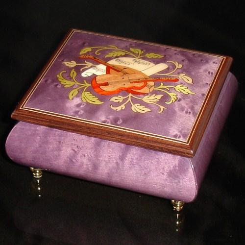 Italian Jewelry Box Plum 17CVM
