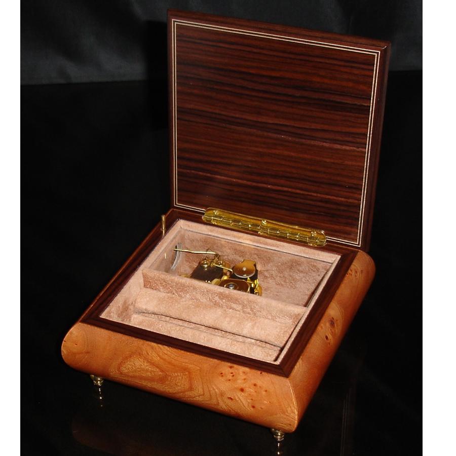 Italian Jewelry Box 450 Elm opened no cover