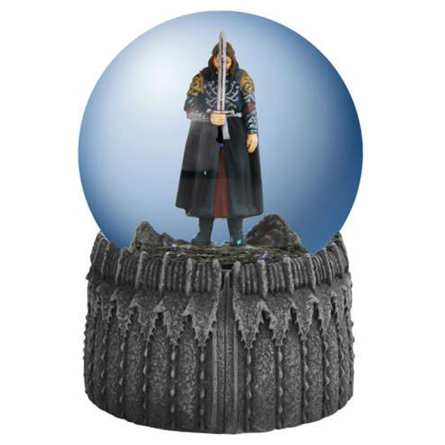 Aragorn Musical Water Globe from Lord of the Rings