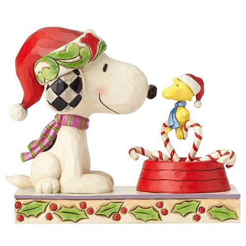 Snoopy & Woodstock Cany Cane Christmas