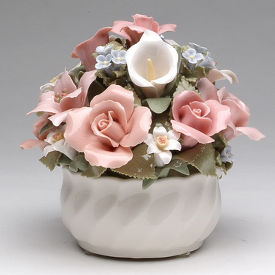 Musical Porcelain Elite Bouquet