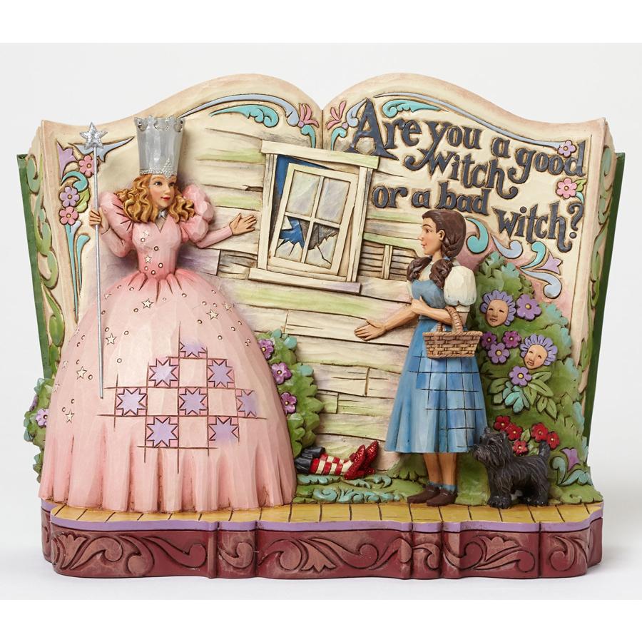Glinda-&-Dorothy-Storybook by Jim Shore