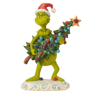 Grinch holding Christmas Tree, by Jim Shore 6002067