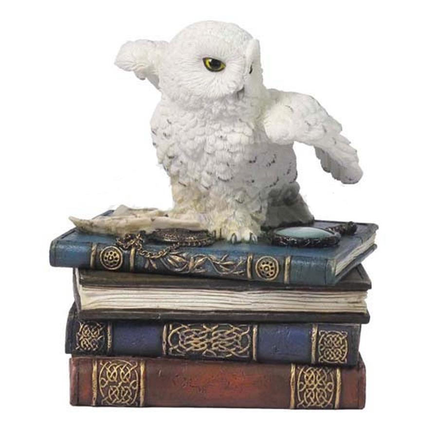 Harry Potter owl on trinket box