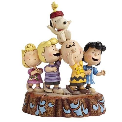 Peanuts Hooray by Jim Shore