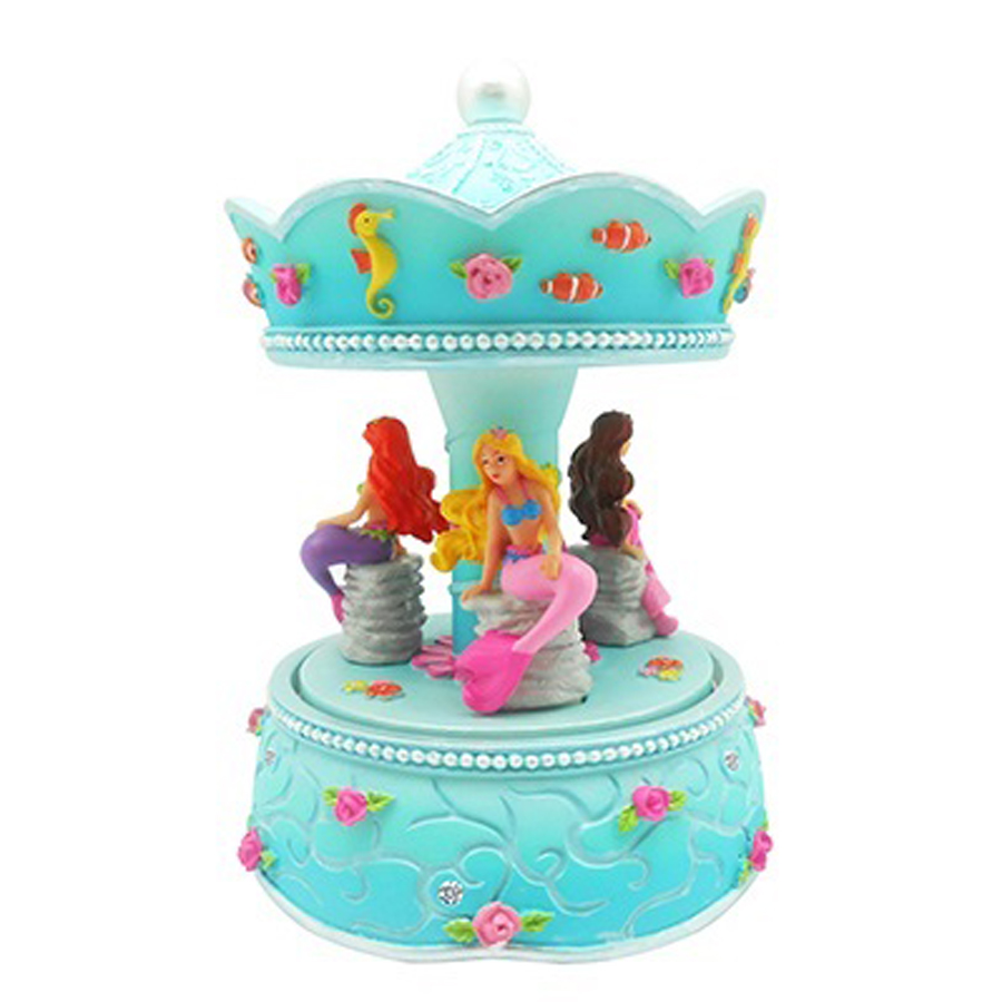 Mermaid Musical Carousel