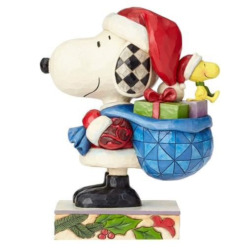 Snoopy Claus Side View