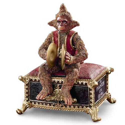 Phantom of the Opera medium size Monkey music Box 44604