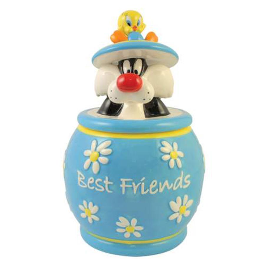 Tweety and Sylvester Cookie Jar