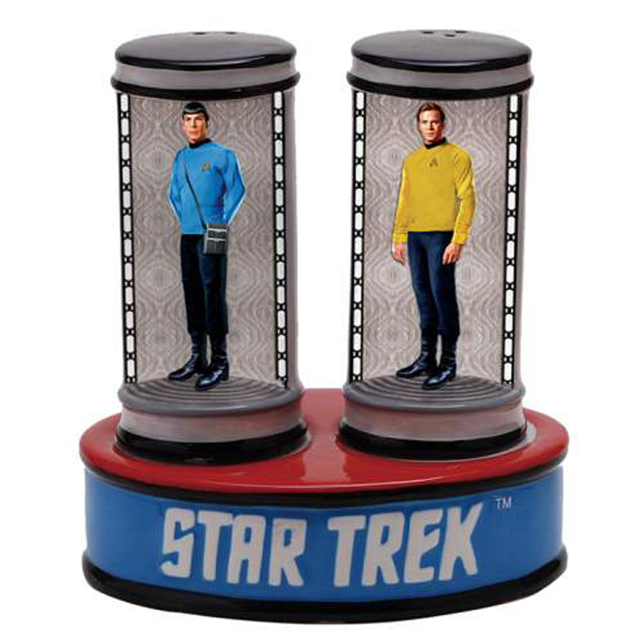 Transporter Salt and Pepper Shakers from Star Trek