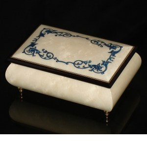 Italian Jewelry Box White 04A