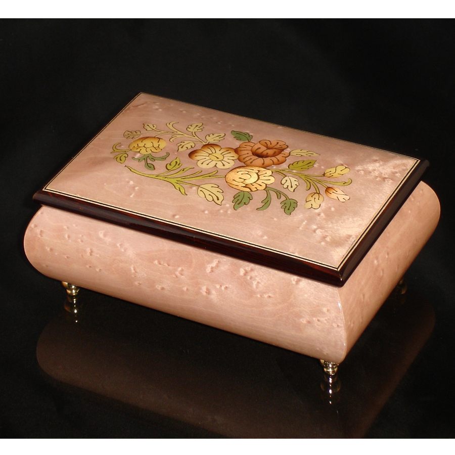 Italian Jewelry Box Light Pink 04CF