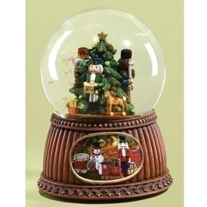 Nutcracker Globe musical